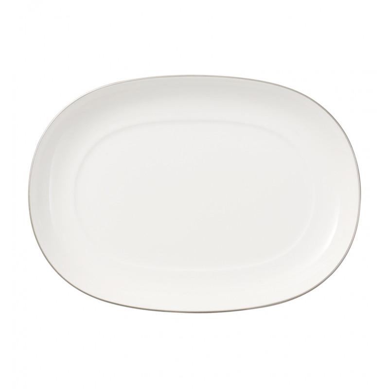 4636-3570 Блюдце овальное 20 см Anmut Platinum Villeroy&Boch