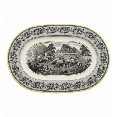 10672960 Блюдо овальное 34 см Audun Ferme Villeroy&Boch