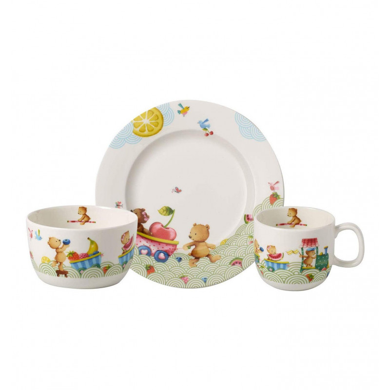 8665-8428 Набор детский 3 пр Hungry Bears Villeroy&Boch