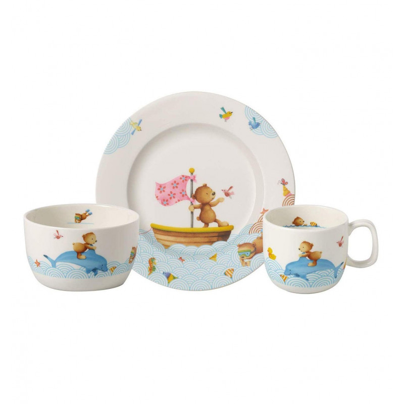 8664-8428 Набор детский 3 пр Happy Bears Villeroy&Boch