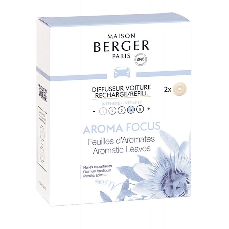 6448 Картридж для автодифузора  Maison Berger AROMA Focus - Aromatic Leaves