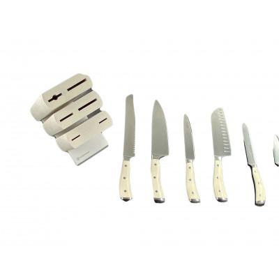 Блок ножей 6 пр. слоновая кость Wuesthof