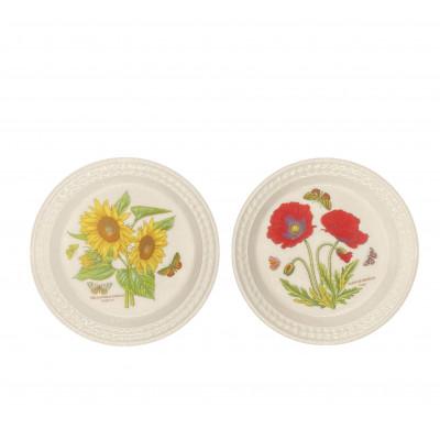 Тарелка салатная 21.5 см Botanic Garden embossed от Portmeirion