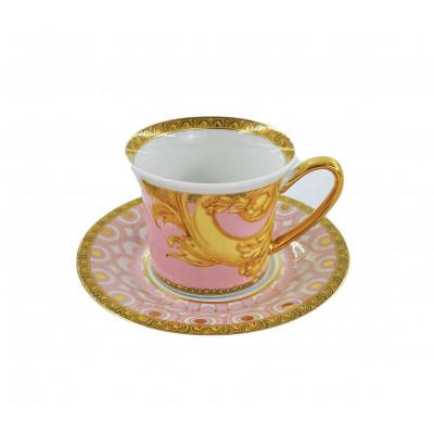 Чашка эспрессо розовая 0.08 л Silver от Versace