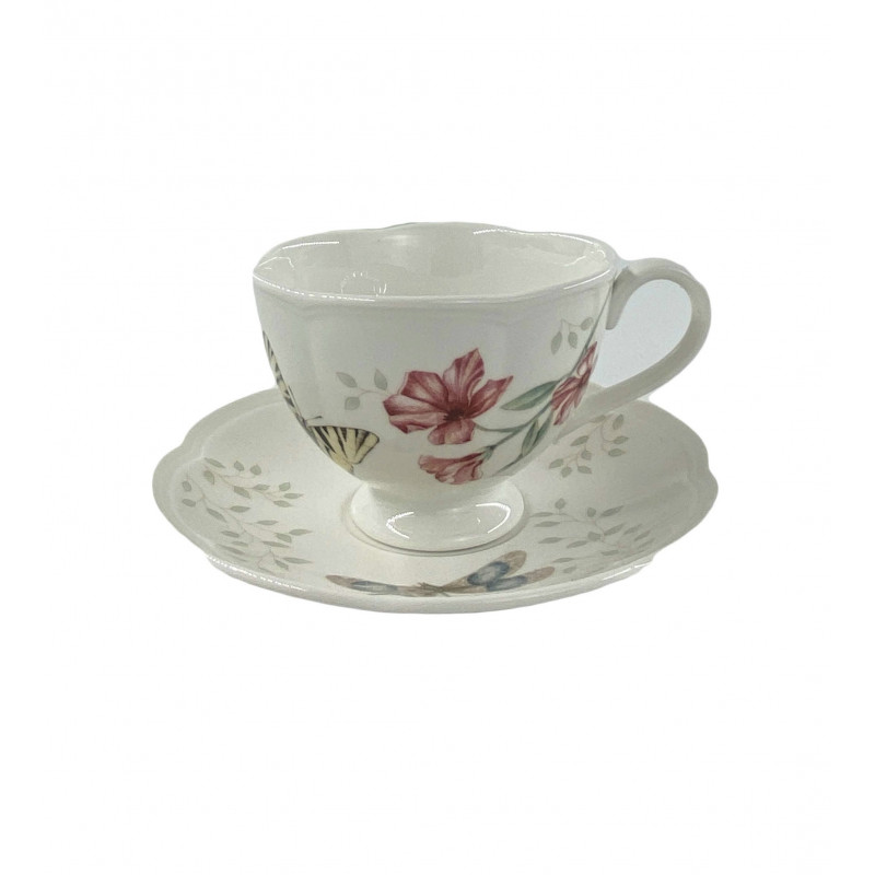 Чашка с блюдцем 0.237 л Butterfly Meadow от Lenox