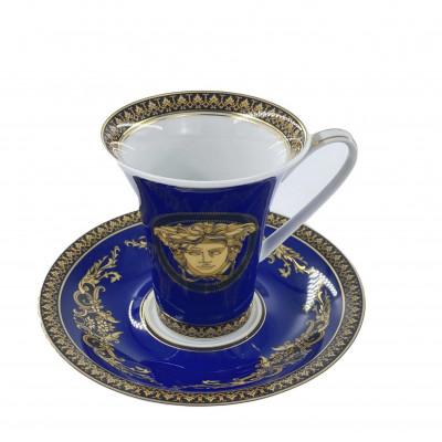 Чашка с блюдцем 0.18 л Medusa Gala от Versace