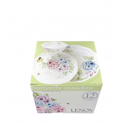 Набор 12 пр. Butterfly Meadow Hydrandea от Lenox