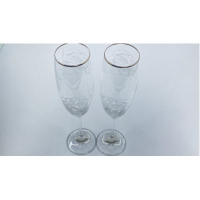 Набор бокалов 2 пр. Silver Peony от Lenox
