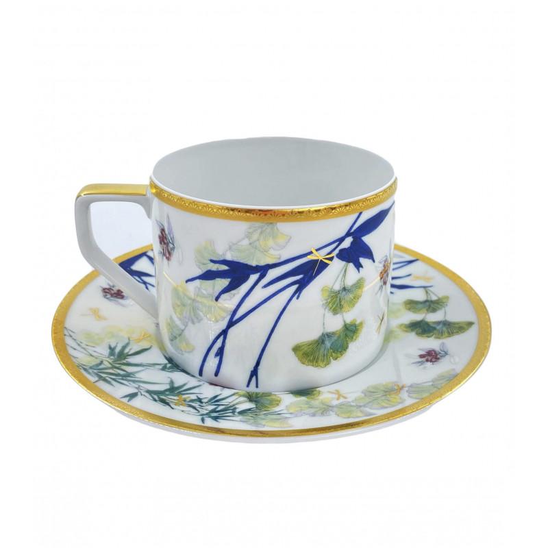 Чашка с блюдцем 0.32 л Heritage Turandot от Rosenthal