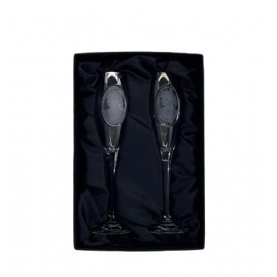 Набор бокалов для шампанского 2 пр. Rogaska Bakhos109366