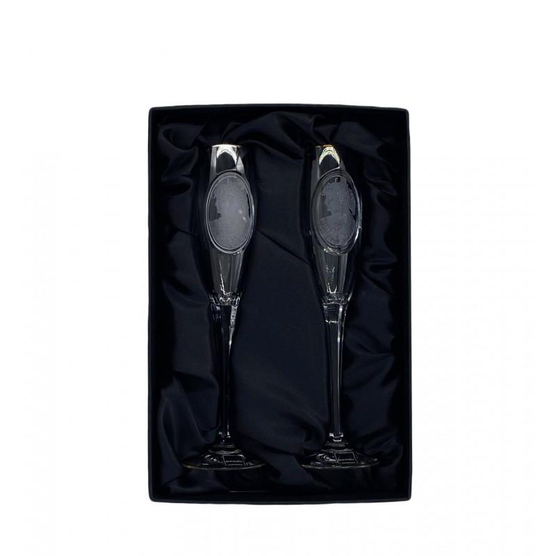 Набор бокалов для шампанского 2 пр. Rogaska