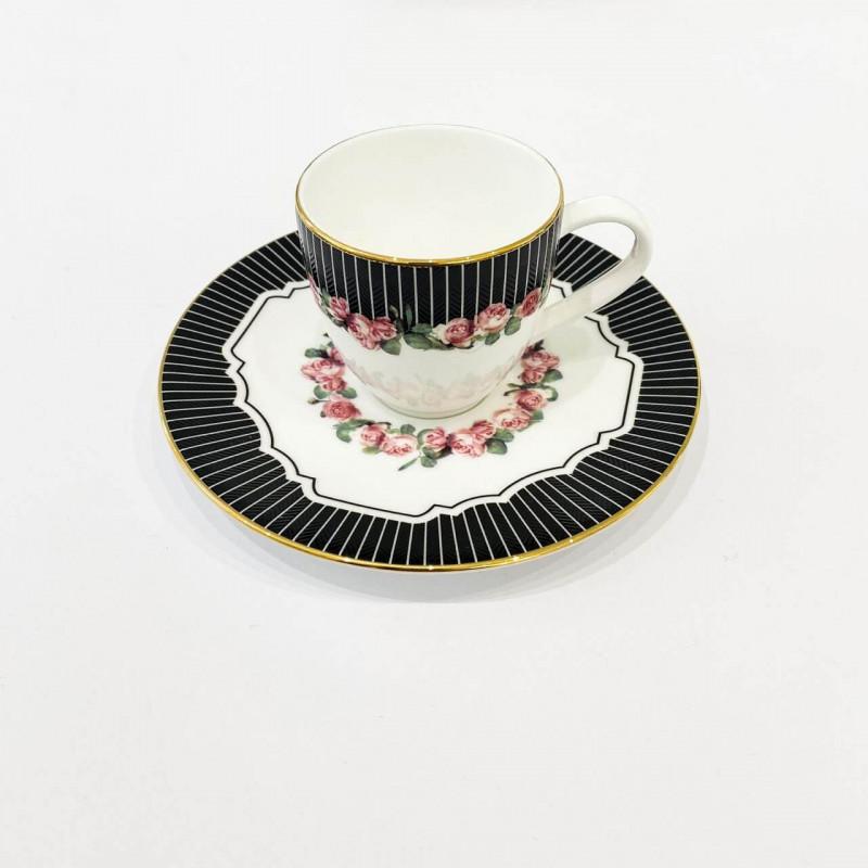 Чашка с блюдцем 118 мл эспрессо VALENTINE от Prouna