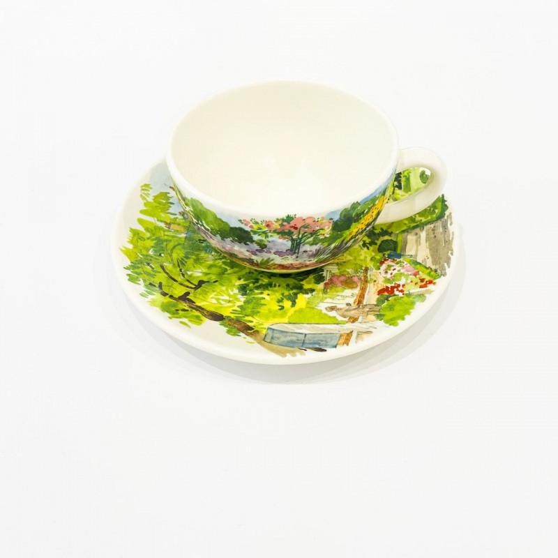 Чашка с блюдцем Paris Giverny от Gien