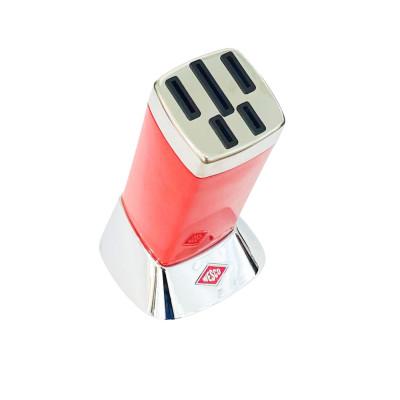 Подставка для ножей красная Wesco 322701-02
