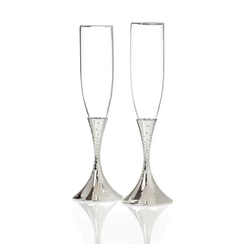 Набор бокалов для шампанского 2 пр. Nambe 0696