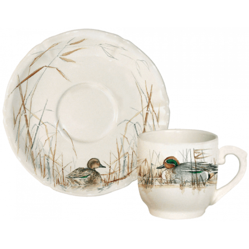 Чашка с блюдцем для эспрессо (2 персоны) Sologne от Gien