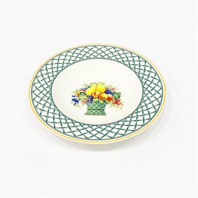 Тарелка глубокая 27 см Basket Garden от Villeroy &Boch