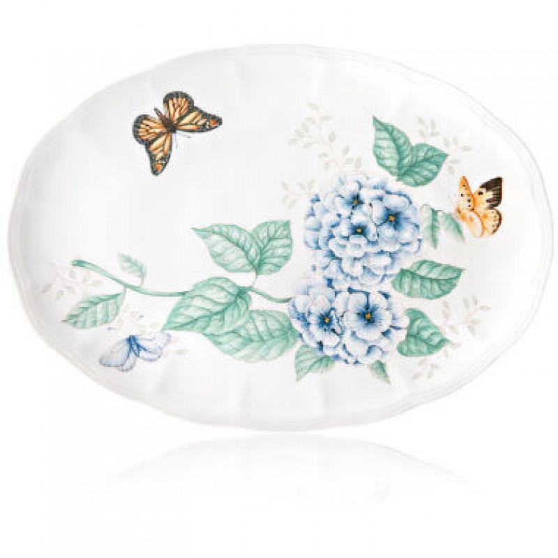 Блюдо овальное 40 см Butterfly Meadow от Lenox