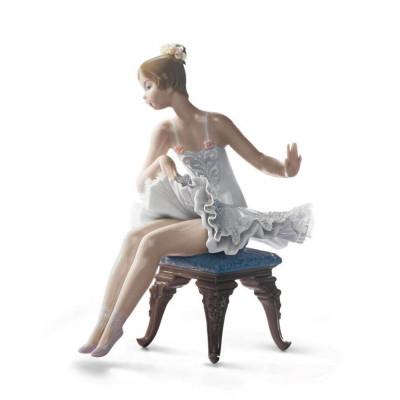 Балерина перед концертом