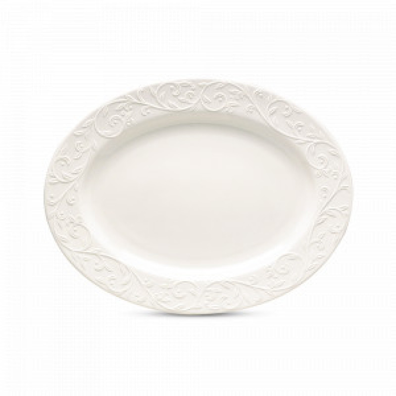 Блюдо овальное 35 см Opal Innocence от Lenox