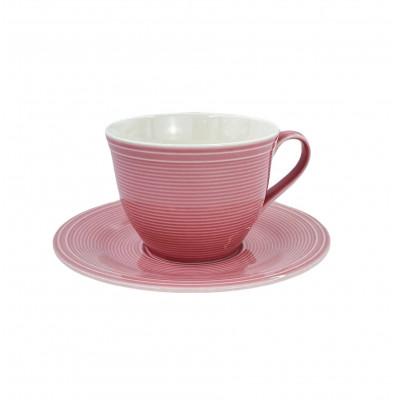 Чашка с блюдцем Color Loop Rose от Villeroy&Boch