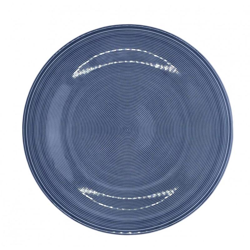 Тарелка обеденная синяя Color Loop Horizont от Villeroy&Boch