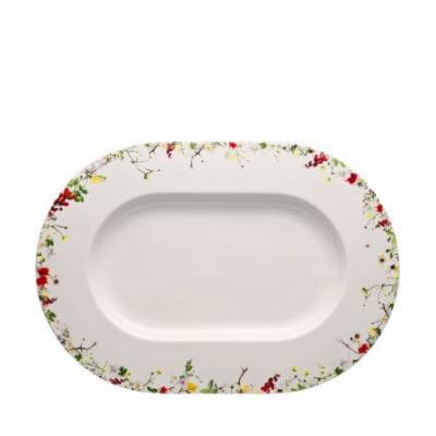 Блюдо для сервировки овальное 41 см Brillance Fleurs Sauvages от Rosenthal 10530-405101-12741