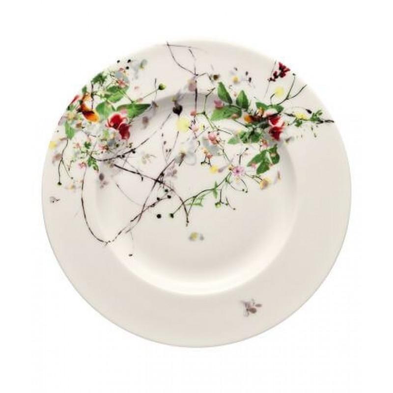 Тарелка десертная 19 см Brillance Fleurs Sauvages от Rosenthal 10530-405101-10019