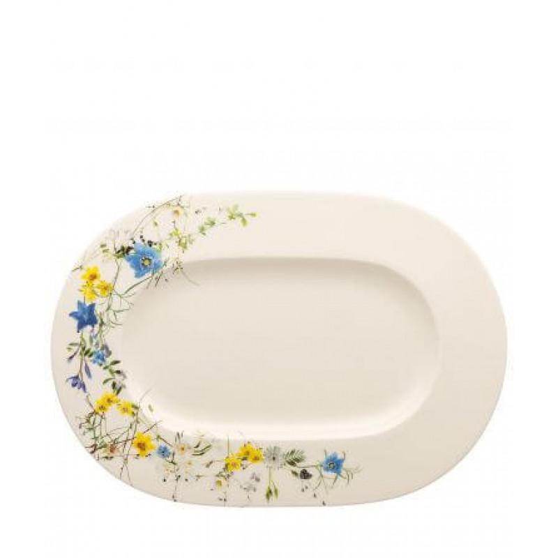 Блюдо овальное 34 см Brillance Fleurs des Alpes от Rosenthal 10530-405108-12734