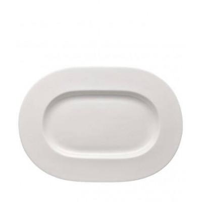 Блюдо овальное 34 см белое BRILLANCE ROSENTHAL