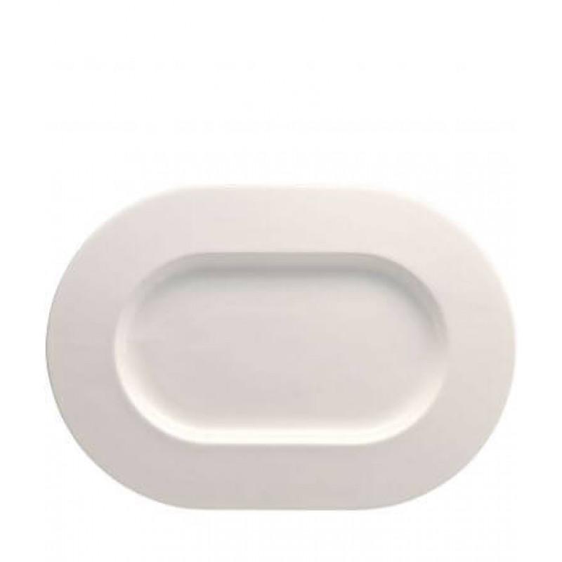 Блюдо овальное 41 см белое BRILLANCE ROSENTHAL
