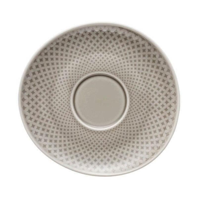 Блюдце для чашки 15см  Junto Pearl Grey от Rosenthal 10540-405201-14771