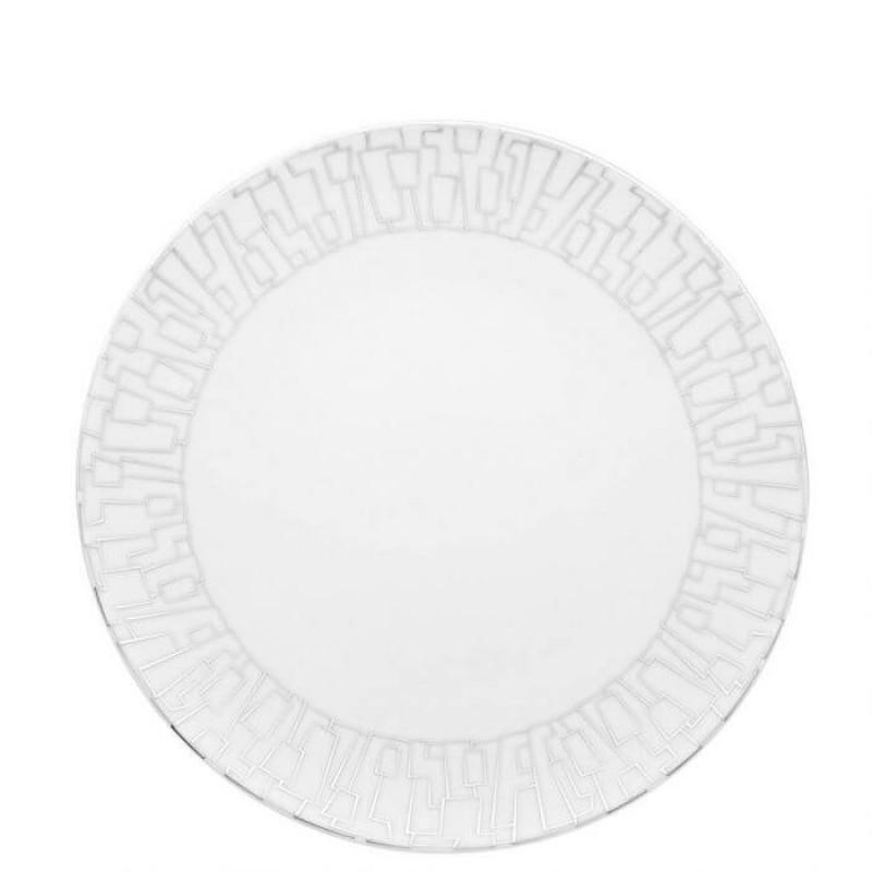 Тарелка  28 см TAC 02 Skin Platinum