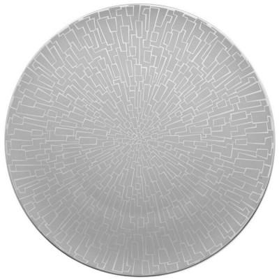 Блюдо круглое 33 см TAC 02 Skin Platinum