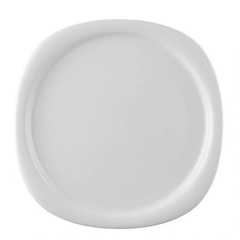 Блюдо круглое 24см WHITE SUOMI