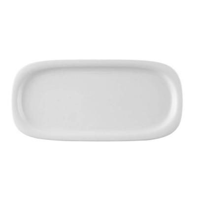 Блюдо овальное 36*17см  WHITE SUOMI