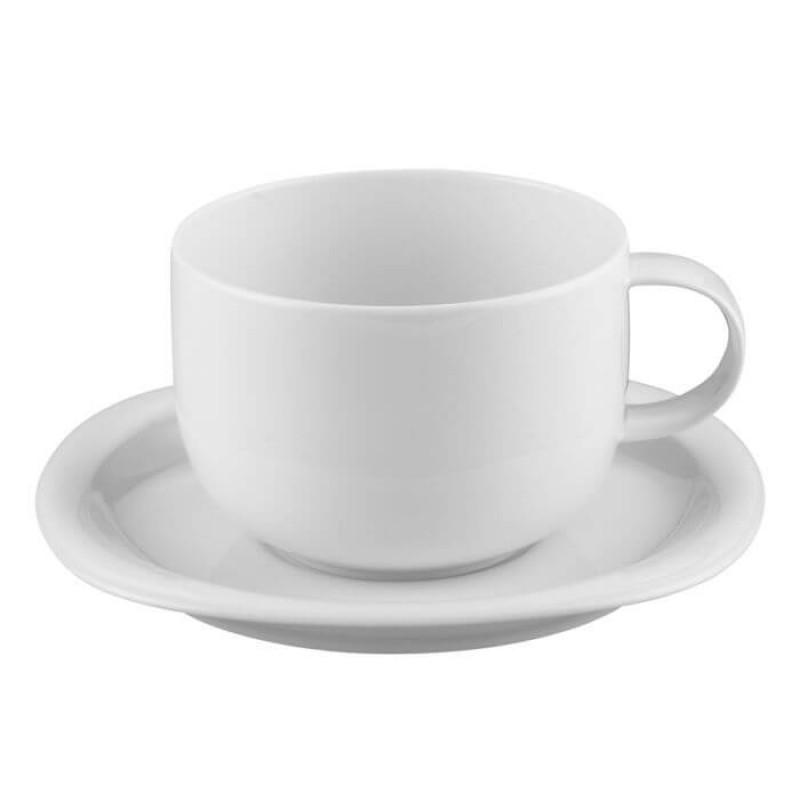 Чашка с блюдцем 0,52л WHITE SUOMI