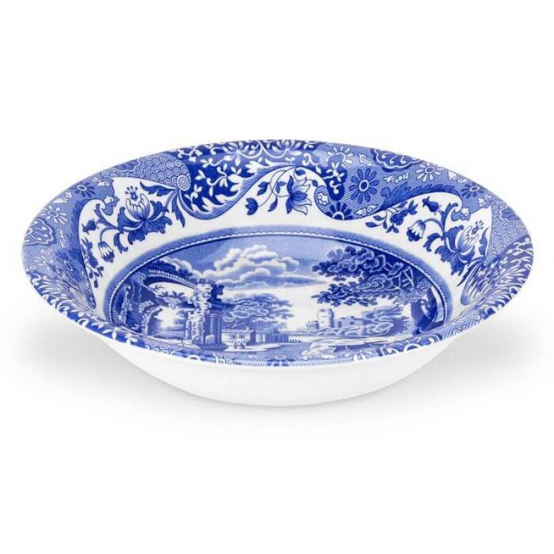 Тарелка глубокая 20см Blue Italian