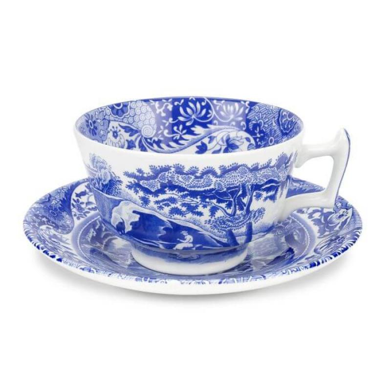 Чашка с блюдцем чайная 0,2л Blue Italian