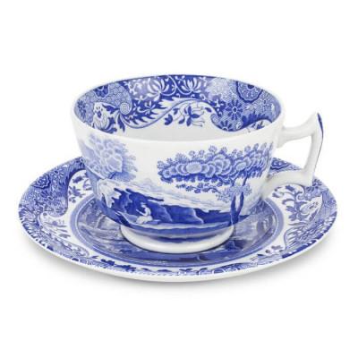 Чашка с блюдцем 0,28л Blue Italian