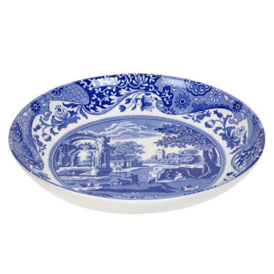 Тарелка для пасты 23см Blue Italian