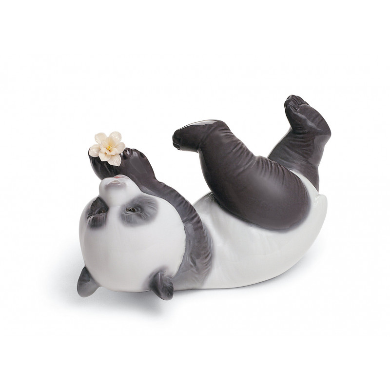 Статуэтка Играющая панда Lladro 01008356