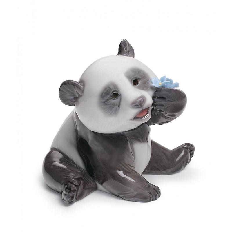 Статуэтка Счастливая панда Lladro 01008357