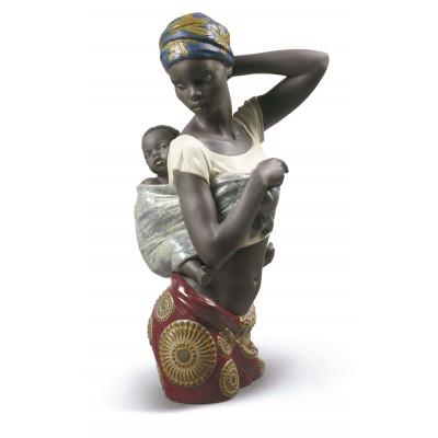 Статуэтка Африканская связь Lladro 01009159