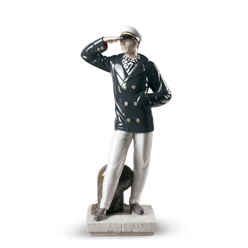 Статуэтка Капитан смотрящий за горизонт Lladro 01009281