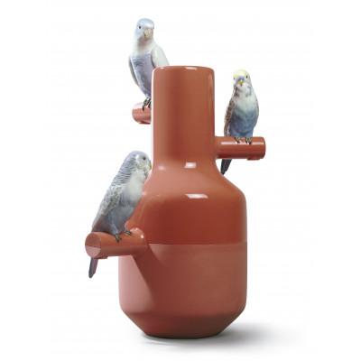 Ваза Вечеринка попугаев