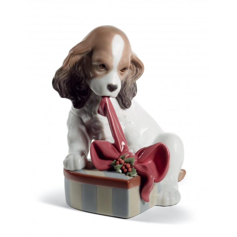 Статуэтка Не могу дождаться Рождества Lladro 01008692