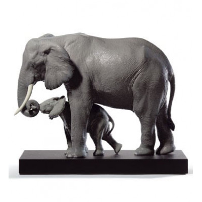 Статуэтка Ведущий Путь.Слоны Lladro 01008694