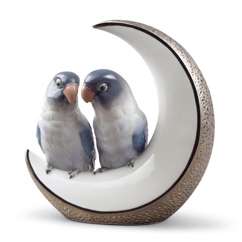 Статуэтка Махнем на Луну(серебро) Lladro 01008789