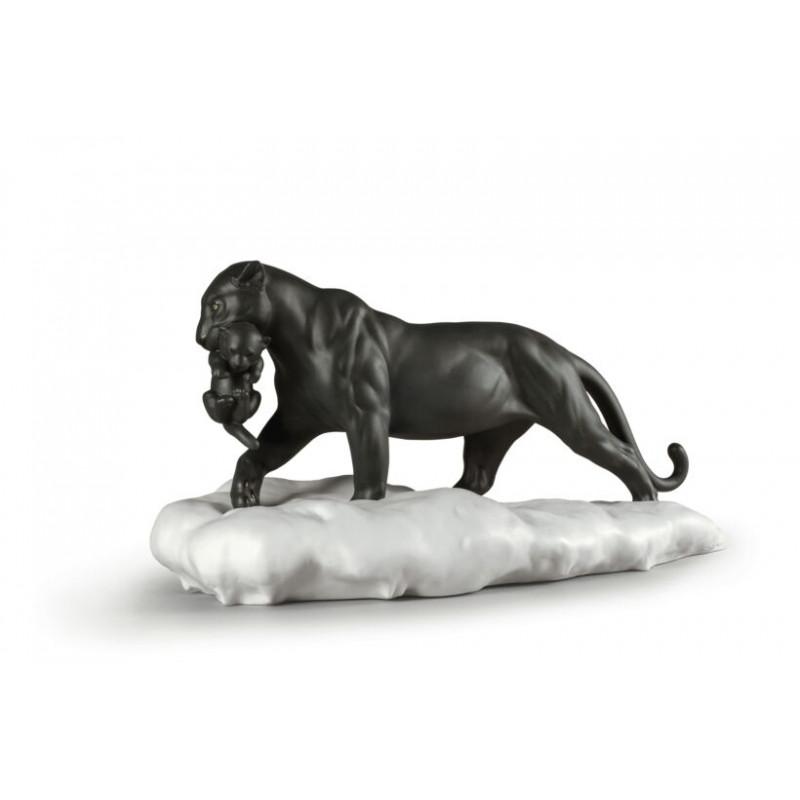Статуэтка Пантера с детенышем Lladro 01009382